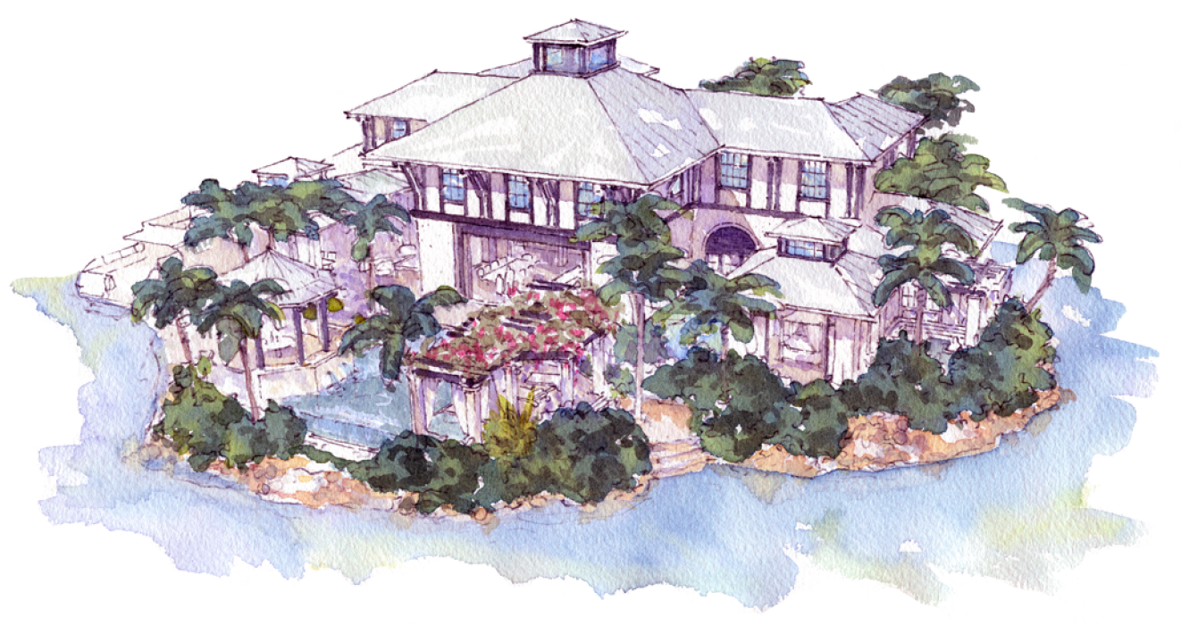 THE ARCHITECTURE OF DRAGON KEYS Is Rooted In The British Colonial Style Fused With Details Of Far Eastern Origins To Create A Unique Statement