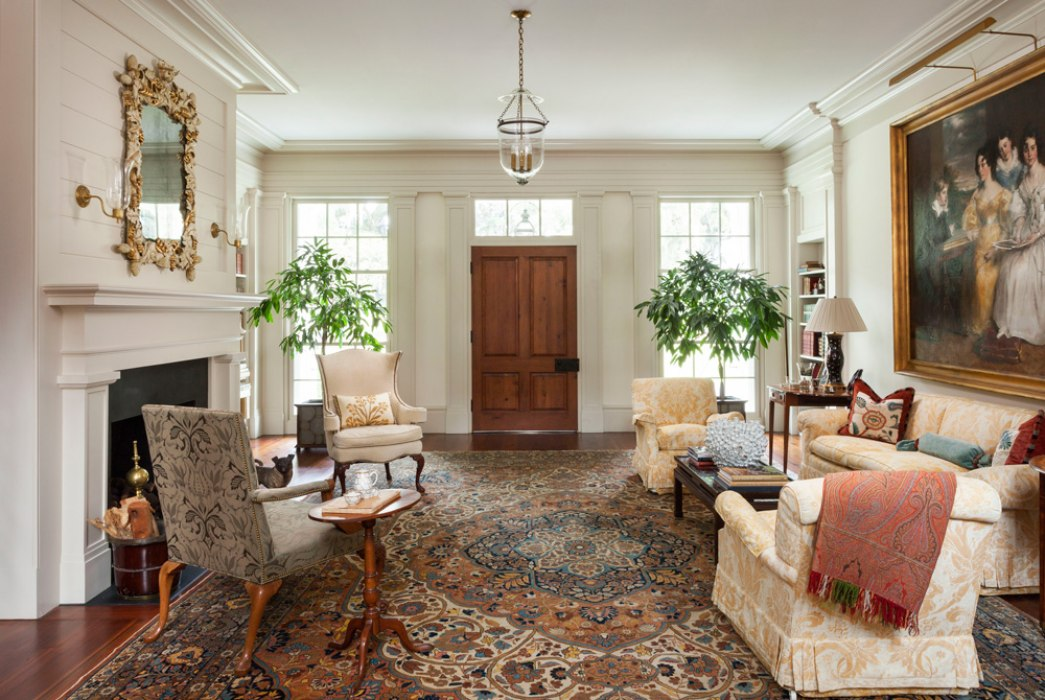 THE RECEPTION HALL Is The Heart Of The Home, Around Which All Rooms  Circulate.