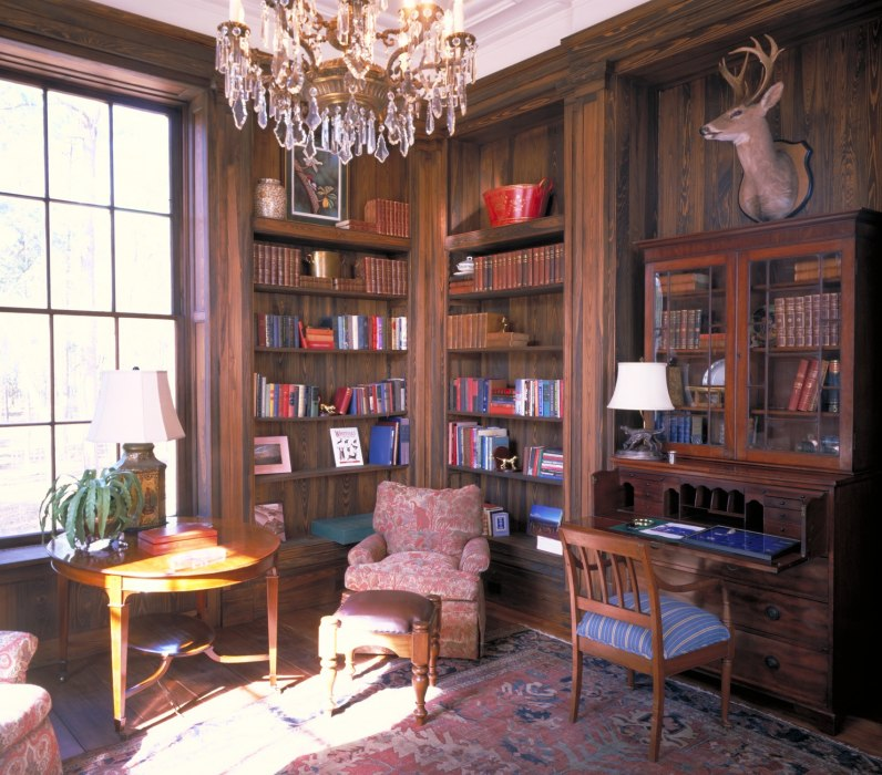 A Southern Gentleman S Home Office: Farmsteads & Estates